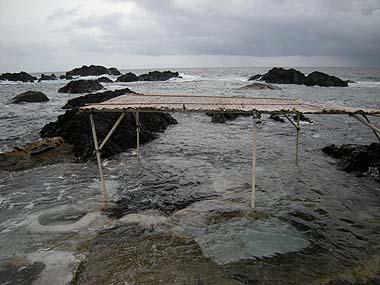 090720今日の海中温泉
