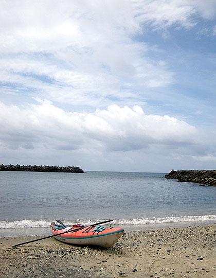 090720浜でひと休み