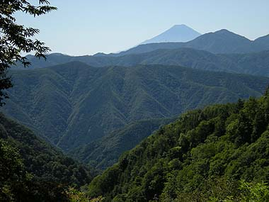 090920七ツ石小屋手前の富士