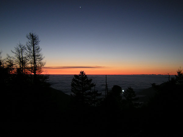 090921雲取の夜明け