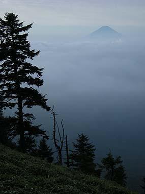090922燕山の富士山