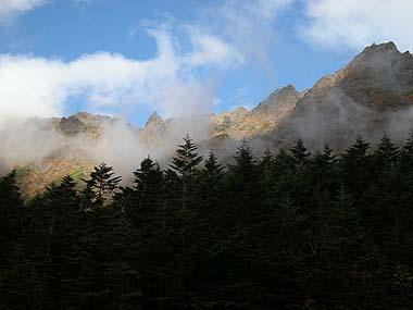 091003八ヶ岳主稜線