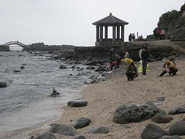 091101石門洞海岸