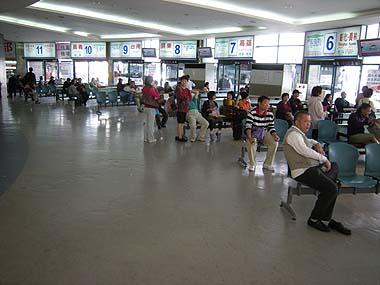 091103国光客運バスターミナル
