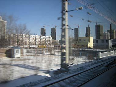 091226和諧号車窓から瀋陽
