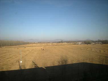 091226車窓から北京郊外