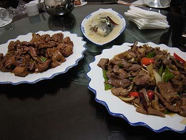 091230漠河夕食