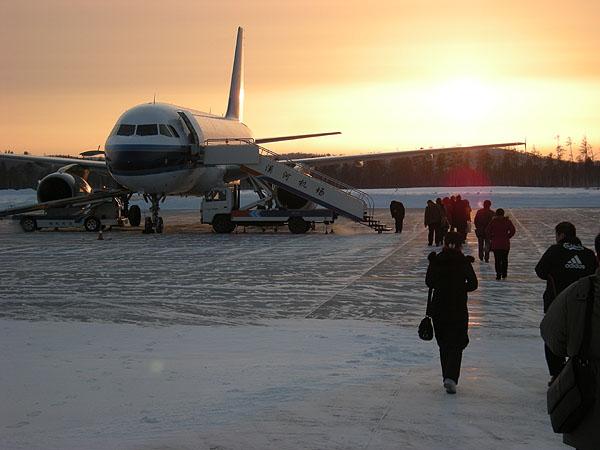 091231漠河空港