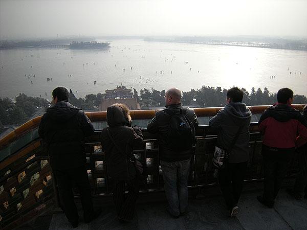 100101頤和園仏香閣から昆明湖