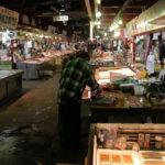 吹雪のため市場へ~八甲田山(3)
