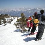 スキー・ハイキング~栂池・山ノ神尾根