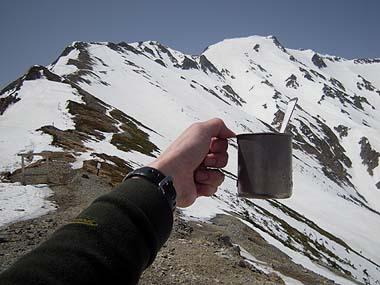 100505五竜山荘コーラで乾杯