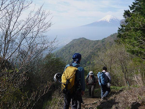 100522三ッ峠から富士山