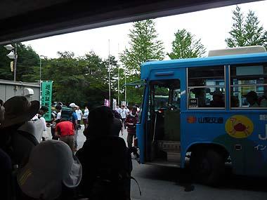100717芦安バス乗り場