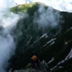 四尾根で日が暮れる…~北岳バットレス(4)