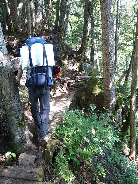 100807西穂高岳登山