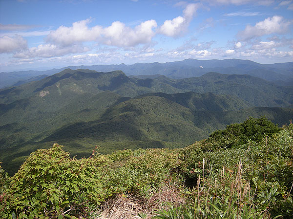 100926大東岳北側の山々