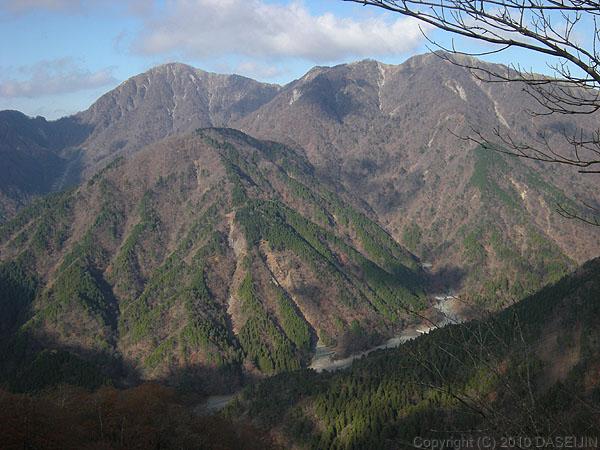 101121丹沢・鍋割山から蛭ヶ岳