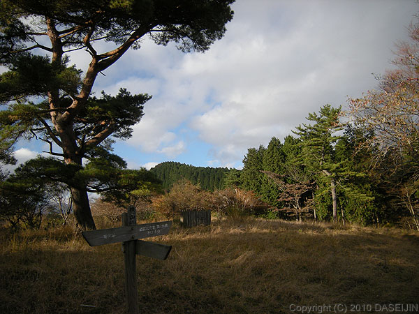 101121丹沢・くぬぎ山山頂