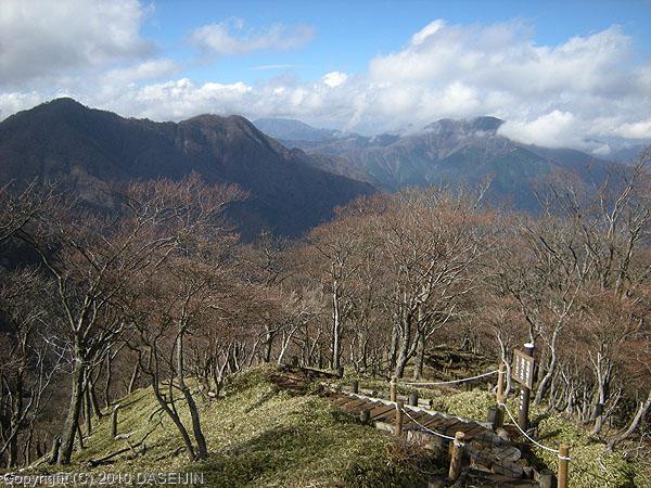 101121丹沢・蛭ヶ岳への登り