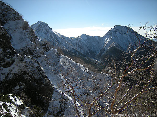 101219赤岳と阿弥陀岳