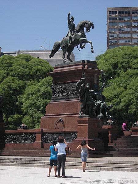 101227ブエノスアイレス・サンマルティン広場