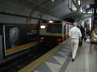 101227ブエノスアイレス・地下鉄