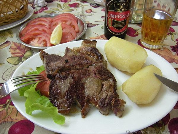 110102プエルトナタレス・Carlitosのステーキ
