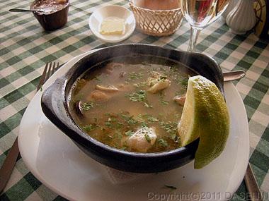 110102プエルトナタレス・Maritimoの海鮮スープ