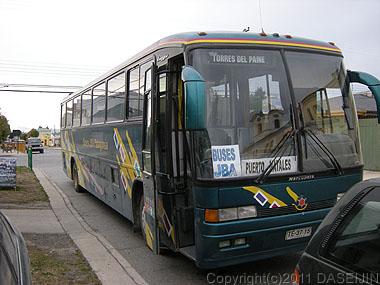 110103パイネ国立公園行きバス