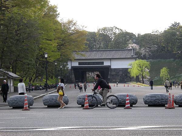 110410江戸城跡
