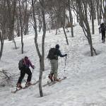 余震を避けて山スキー~守門岳(1)