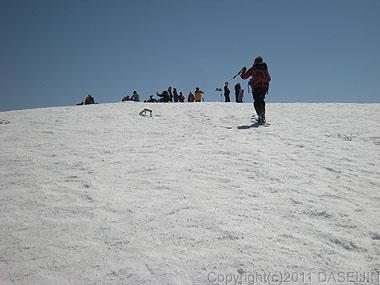 110417守門岳・大岳山頂