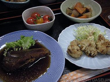 110430小笠原母島夕食