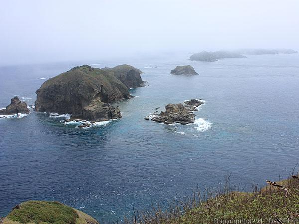 110503小笠原母島小富士から鰹鳥島