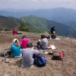 新緑の鷹ノ巣山