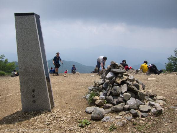 170708 鷹ノ巣山山頂