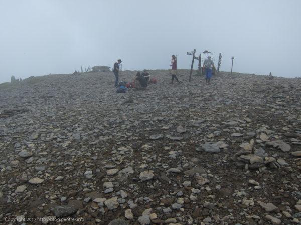 170729 硫黄岳山頂