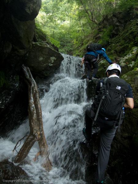 170827真名井沢の小滝