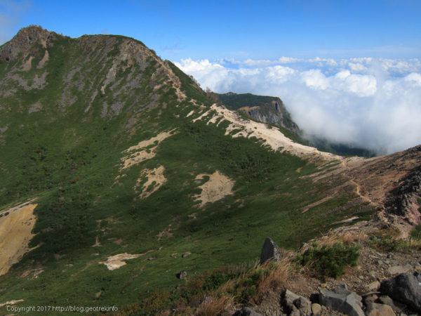 170924根石岳から天狗岳