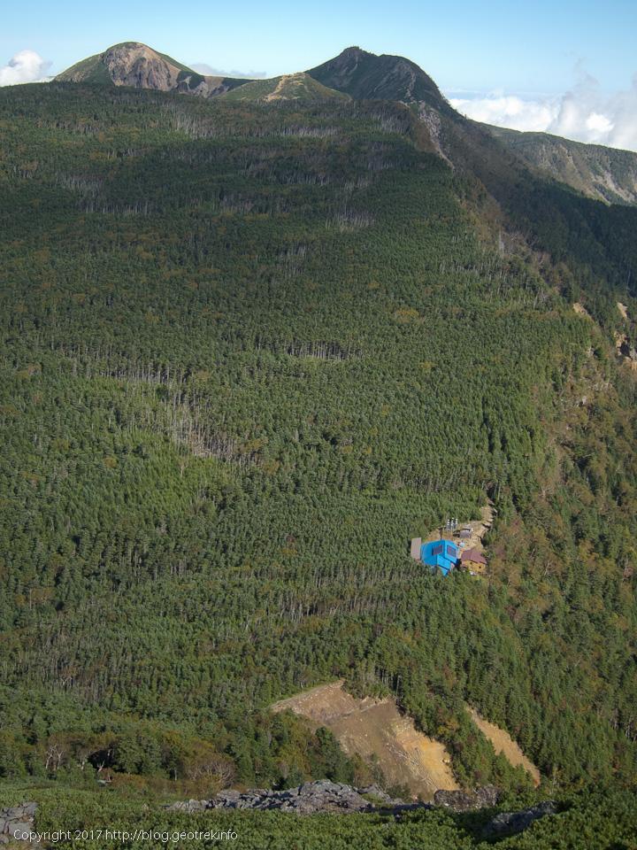 170924山びこ荘と天狗岳