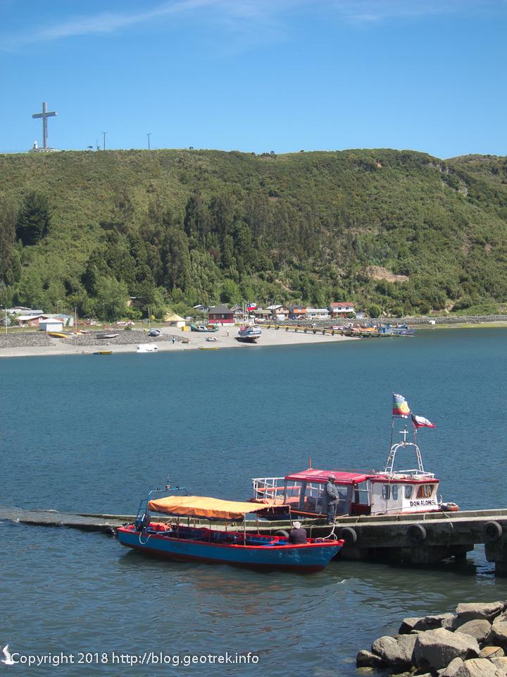 171124 テングロ島への渡し船の船着き場