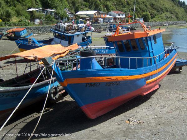 171124 テングロ島の漁船