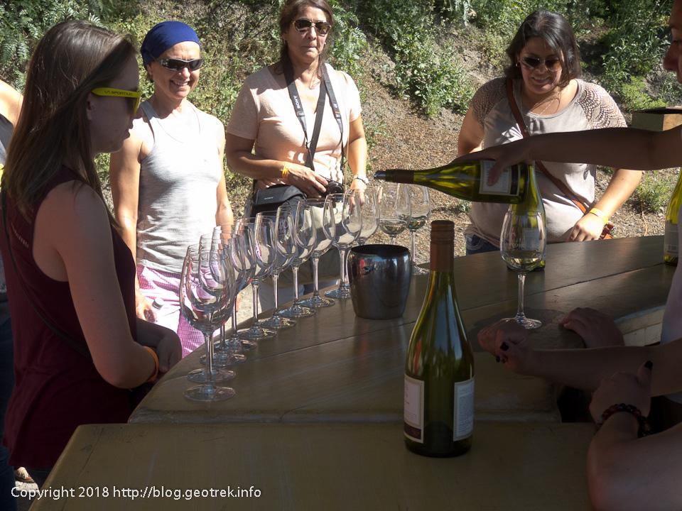 171124 コンチャイトロのワインの試飲