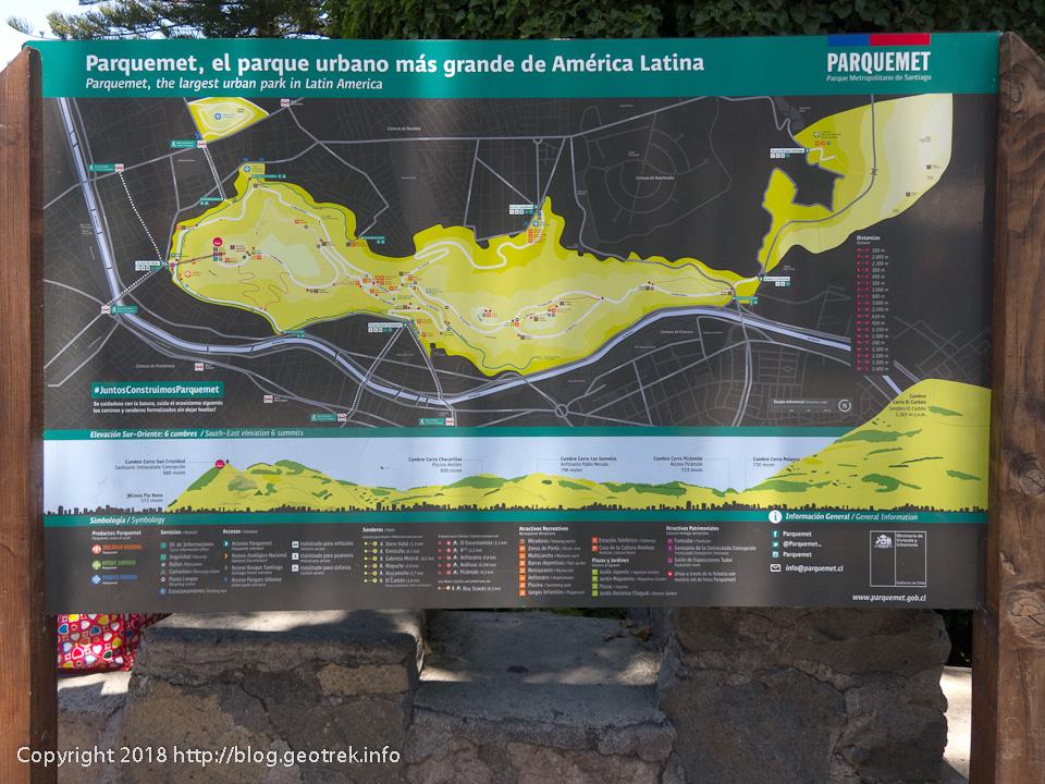 171126 サンクリストバルの丘の地図