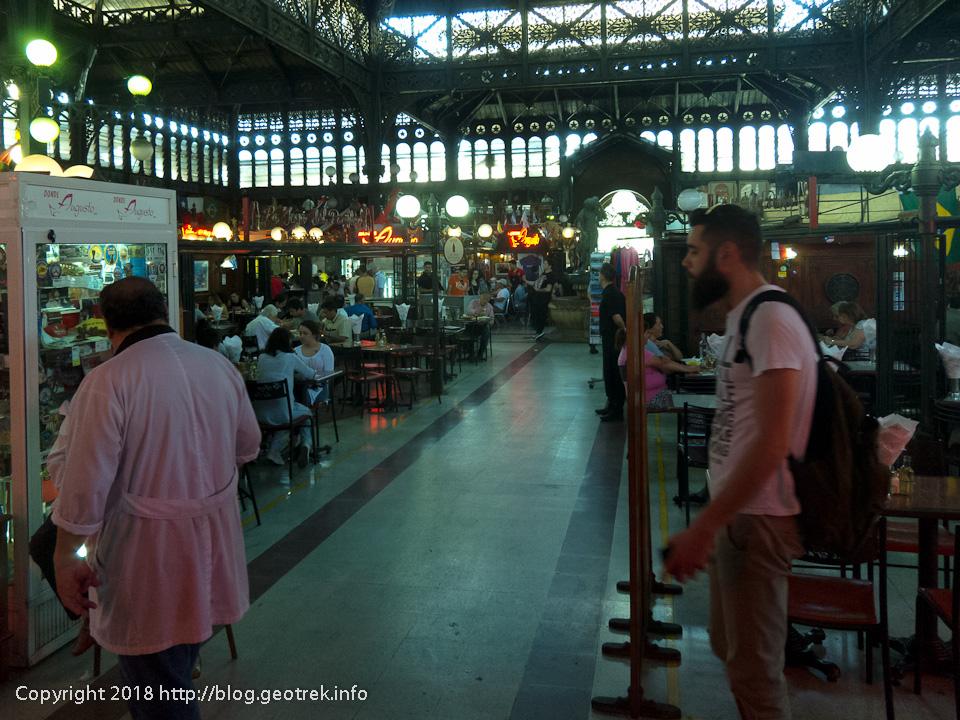 171126 中央市場の中のレストラン