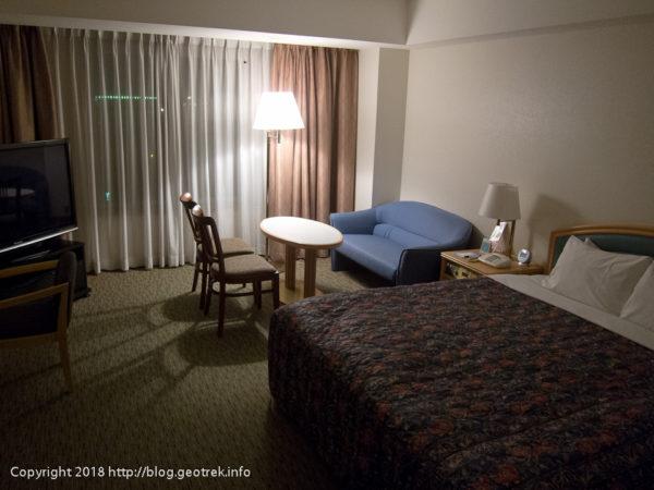 171128 アメリカン航空の用意してくれたホテル