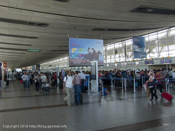 171113 サンティアゴ国際空港
