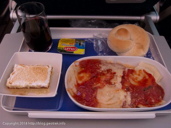 171113 ラタム航空機内食