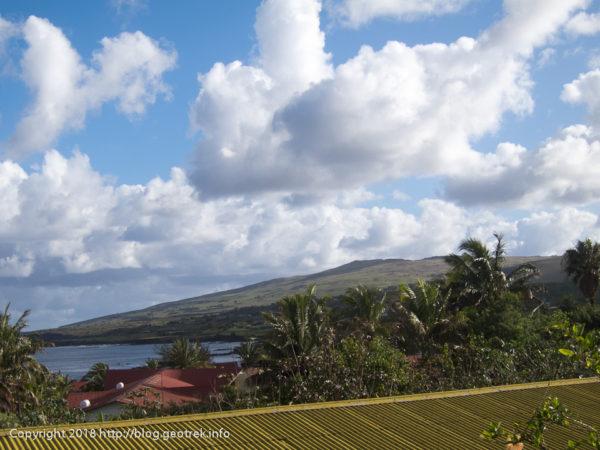 181114 窓から見るイースター島
